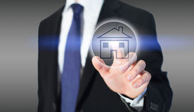 Real estate, buy house. Real estate online, choose your property Stock Photos