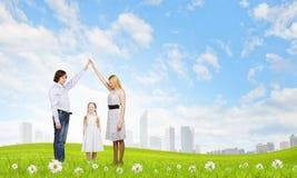 Real estate buying Stock Image