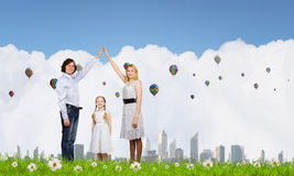 Real estate buying Stock Photography