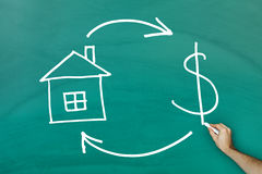 Real Estate and Cash concept Stock Images
