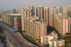 Real-estate  of china. Real-estate  of guangzhou city,guangdong,china Stock Photography