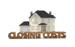 Real Estate Closing Costs Stock Photo