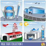 Real estate collection 1 Royalty Free Stock Photography