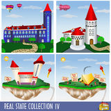 Real estate collection 4 Royalty Free Stock Image