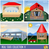 Real estate collection 5 Royalty Free Stock Photography