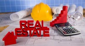 Real Estate commerciale e progetto architettonico Immagine Stock