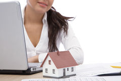 Real estate and communication Stock Image