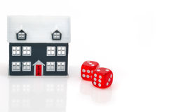 Real estate concept. In time Stock Photography