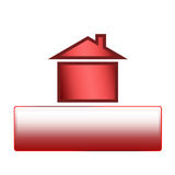 Real Estate concept. Home for sale or house for sale! A symbol for real estate concepts Royalty Free Stock Photos