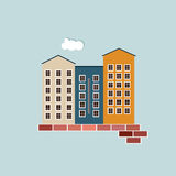 Real Estate Concept. Apartments For Sale / Rent Stock Images