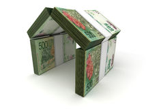 Real Estate Concept Argentina Pesos Stock Photography