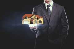 Real estate concept Royalty Free Stock Photos