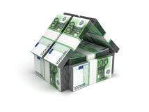 Real Estate Concept Euro Stock Photos