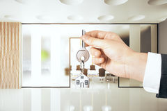 Real estate concept Royalty Free Stock Images