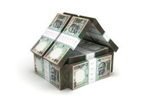Real Estate Concept Indian Rupee Stock Images