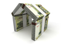 Real Estate Concept Iranian Rial Royalty Free Stock Photos