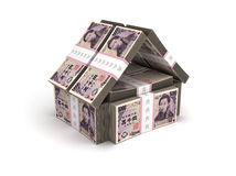 Real Estate Concept Japanese Yen Stock Image