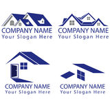 Real Estate Concept Logo Royalty Free Stock Images