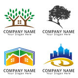 Real Estate Concept Logo Stock Photo