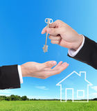 Real estate Concept Royalty Free Stock Photo
