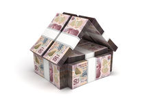 Real Estate Concept Mexican Pesos Royalty Free Stock Image
