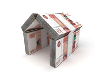 Real Estate Concept Ruble Stock Photography