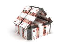 Real Estate Concept Ruble Stock Image