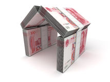 Real Estate Concept Yuan Royalty Free Stock Photos
