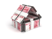 Real Estate Concept Yuan Stock Image
