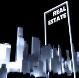Real estate conceptual city 3d Urban development Stock Photos