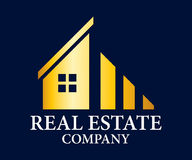 Real Estate, construção, construção e arquitetura Logo Vetora Design foto de stock