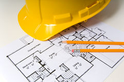 Real estate construction Stock Image