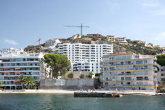 Real estate construction site near Santa Ponsa Stock Photography