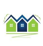Real Estate contiene el logotipo Foto de archivo libre de regalías