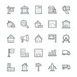 Real Estate Cool Vector Icons 2 Royalty Free Stock Image