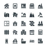 Real Estate Cool Vector Icons 1 Royalty Free Stock Images