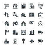 Real Estate Cool Vector Icons 2 Stock Photos