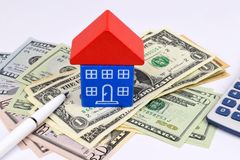 Real Estate Cost Stock Photo