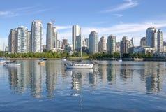 Real Estate costoso en Vancouver, Canadá Foto de archivo libre de regalías