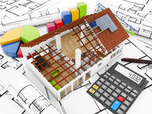 Real estate costs Stock Photos