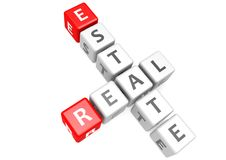 Real estate in cube Stock Photo
