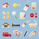 Real Estate Cutouts Royalty Free Stock Images