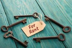 Real Estate czynszu pojęcie Zdjęcia Stock