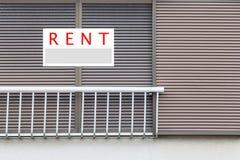 Real Estate de location signent photos stock
