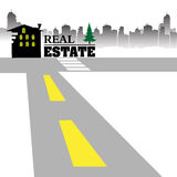 Real estate design Stock Photography