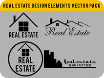 Real estate design Stock Photos