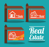 Real Estate design Royalty Free Stock Image