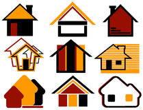 Real Estate Design Elements Stock Image