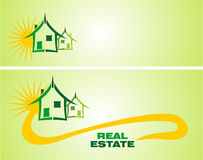 Real Estate Design Elements Stock Image