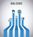 Real estate design stock illustration